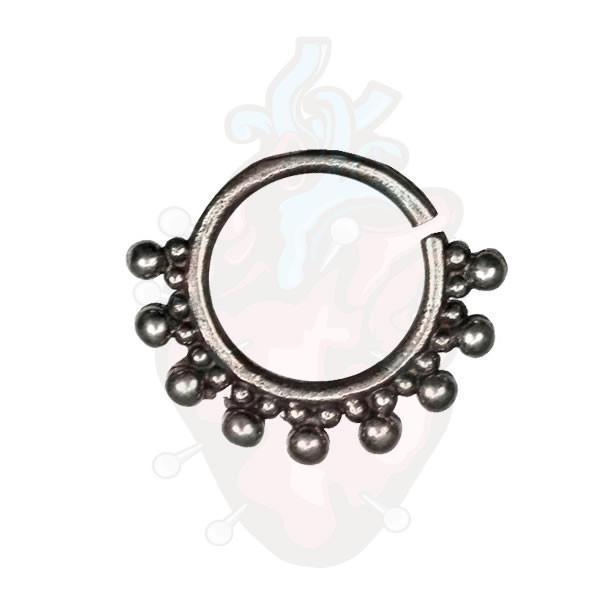 piercing septo bronze Lummi, para furos de septo.