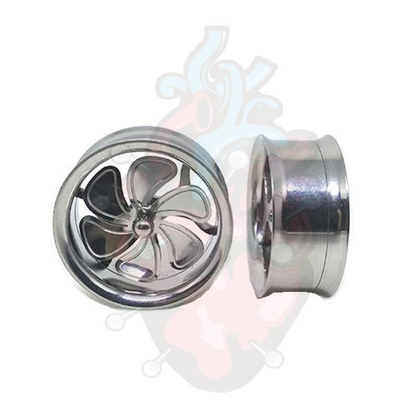 alargador gira turbina, em aço cirúrgico 316L.